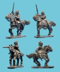 Cavalry in Buff Coat w/Helmet