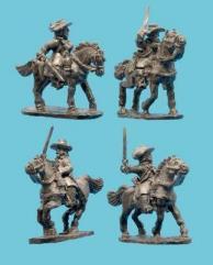 Cavalry in Buff Coat w/Soft Hat