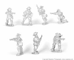 Dismounted Infantry Skirmishing w/Slouch Hats