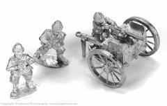 Maxim On Cavalry Carriage
