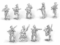 Russian Infantry Skirmishing w/Command