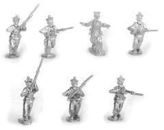 French Sailors Skirmishing w/Command