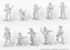 Boers Skirmishing w/Rifles