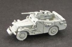White Scout Car