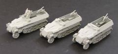SdKfz 251/1, 2, or 10 w/Support Weapons