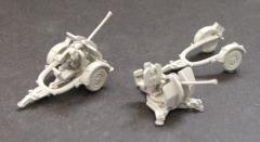 20mm Quad and 37mm AA Guns