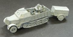 SdKfz 7/2 w/Armored Cab and Crew