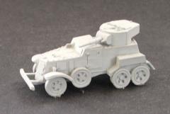 BA-6, BA-10, and BZ-10 Armored Cars