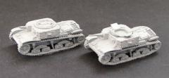M13/40 Command/OP Tanks