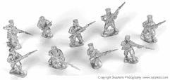 Mutineers Skirmishing