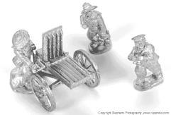 Gardner Machine Gun w/Crew