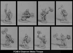 Dwarf Melee Troops