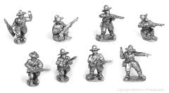 US Cavalry - Dismounted w/Command
