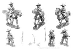 Mexican Rurales - Mounted & Unmounted