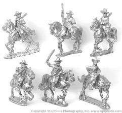Cuban Rebel Cavalry w/Command