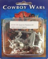 Apache Raiders #2 - Lobo Loco & Rapido