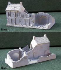 Large Bombed House w/Courtyard
