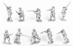 American Infantry Advancing