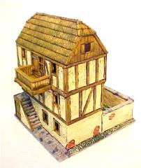 European - Wood Frame Building