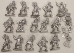 Irish Lower Class Warrior Collection
