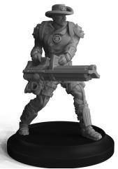 Deputy w/Heavy Weapon - Gatling Gun
