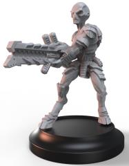 Grey w/Heavy Drain Rifle - Light Support