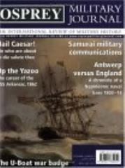 "Vol. 3, #6 ""Hail Caesar!, Antwerp vs. England, Samurai Military Communications"""