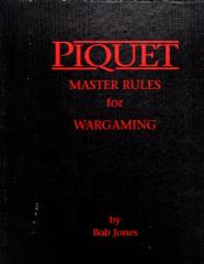 Piquet - Master Rules for Wargaming (2nd Edition)