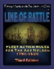 Line of Battle - Fleet Action Rules for the Age of Nelson, 1760-1820 (3rd Edition, 1st Printing)