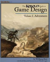 Kobold Guide to Game Design, The #1 - Adventures