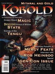 "#14 ""Gen Con Issue, Ecology of the Tengu, Treasure Trove"""