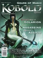 "#16 ""Magic of Golarion, Ecology of the Gearforged, Harem Assassins"""