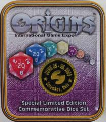 Origins 2009 Promo Dice Set