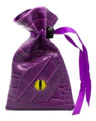 Dragon Eye Dice Bag - Purple