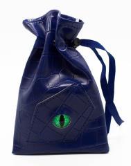 Dragon Eye Dice Bag - Blue