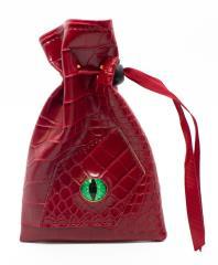 Dragon Eye Dice Bag - Red
