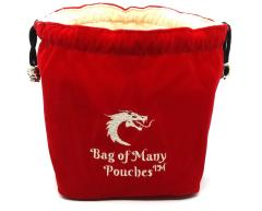 Bag of Many Pouches - Red