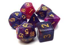 Purple & Red w/Gold (7)