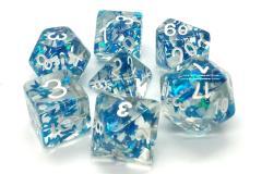 Blue Butterfly w/White (7)