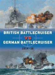 British Battlecruiser vs. German Battlecruiser