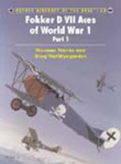 Fokker D VII Aces of World War 1 - Part 1