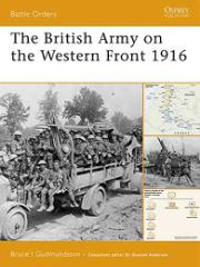 British Army on the Western Front 1916, The