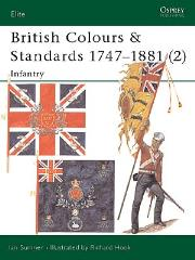 British Colours & Standards 1747-1881 (2) - Infantry
