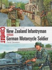 New Zealand Infantryman vs. German Motorcycle Soldier - Greece and Crete 1941
