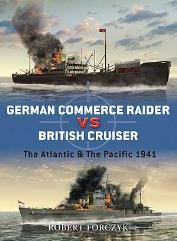 German Commerce Raider vs. British Cruiser