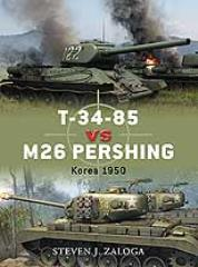 T-34-85 vs. M26 Pershing - Korea 1950