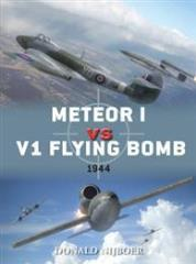 Meteor I vs. V1 Flying Bomb