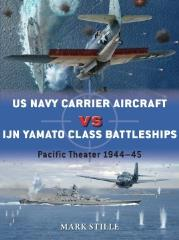 US Navy Carrier Aircraft vs. IJN Yamato Class Battleships