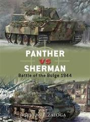 Panther vs. Sherman - Battle of the Bulge, 1944