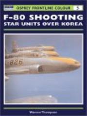 F-80 Shooting Star Units Over Korea